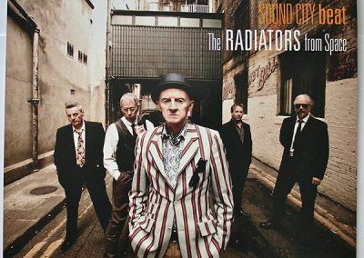 The Radiators from Space album Sound City Beat cover
